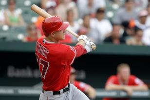 Mike Trout - Follow Through